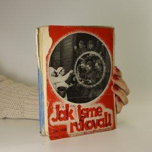 náhled knihy - Jak jsme rukovali. Září 1938