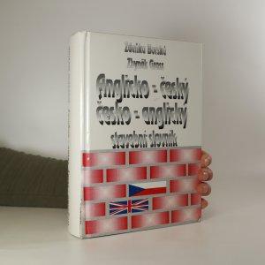 náhled knihy - Anglicko-český, česko-anglický stavební slovník
