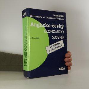 náhled knihy - Anglicko-český ekonomický slovník s výkladem a výslovností