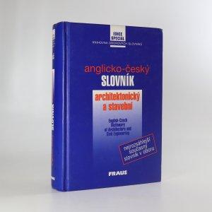 náhled knihy - Anglicko-český slovník architektonický a stavební
