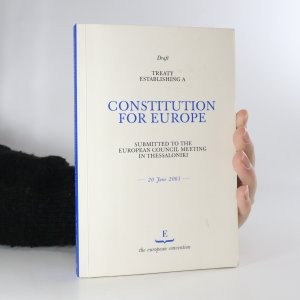 náhled knihy - Draft Treaty Establishing a Constitution for Europe