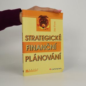 náhled knihy - Strategické finanční plánování