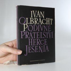 náhled knihy - Podivné přátelství herce Jesenia