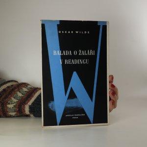 náhled knihy - Balada o žaláři v Readingu