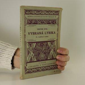 náhled knihy - Vybraná lyrika