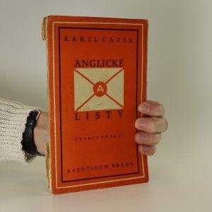 náhled knihy - Anglické listy