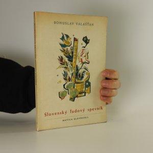 náhled knihy - Slovenský l'udový spevník
