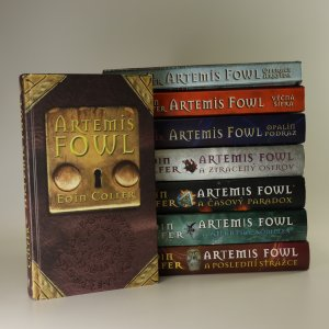 náhled knihy - Artemis Fowl. 1.-8. díl (viz foto)