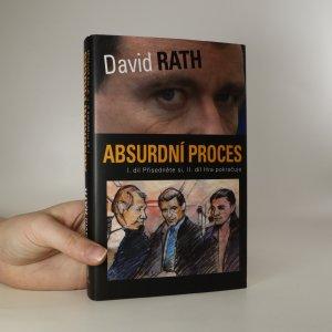 náhled knihy - Absurdní proces