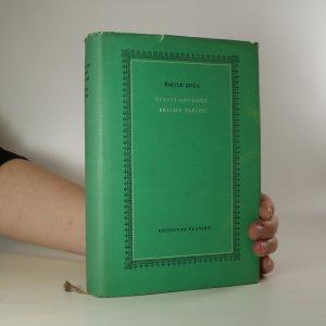 náhled knihy - Štěstí Rougonů. Břicho Paříže