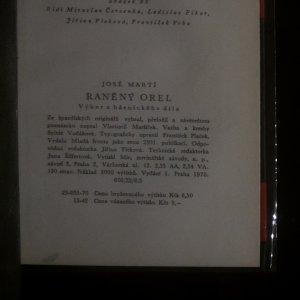 antikvární kniha Raněný orel, 1970