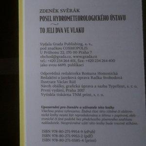 antikvární kniha Posel hydrometeorologického ústavu. To jeli dva ve vlaku, 2017