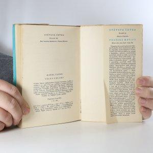 antikvární kniha Válka s mloky, 1954