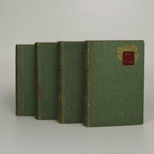 náhled knihy - Spisy L. N. Tolstoje. Vojna a mír I-IV (4 svazky, komplet)