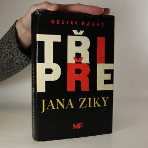 náhled knihy - Tři pře Jana Ziky