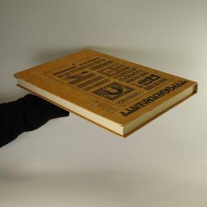 antikvární kniha Typoornamenty, 1981