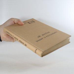 antikvární kniha Úvahy o fotografii, 1947