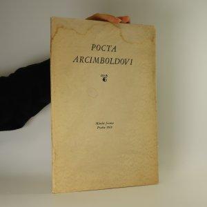 náhled knihy - Pocta Arcimboldovi (výtisk č. 48, obsahuje 5 signovaných litografií)