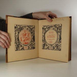 antikvární kniha Mistr Kampanus. Historický obraz, 1924