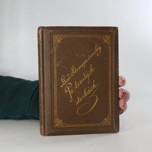 náhled knihy - Po trnitých stezkách. Obrázky, povídky a novelly. I. (Kabinetní knihovna, svazek XXIV.)