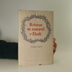 náhled knihy - Kristus se zastavil v Eboli