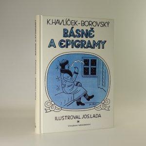 náhled knihy - Básně a epigramy
