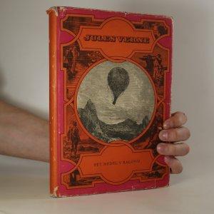 náhled knihy - Pět neděl v balónu