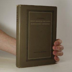 náhled knihy - Život Henryho Brularda. Egotistické vzpomínky