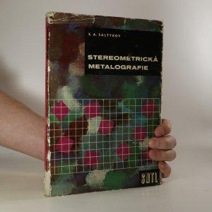 náhled knihy - Stereometrická metalografie
