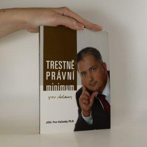náhled knihy - Trestněprávní minimum pro občany