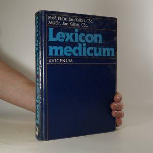 náhled knihy - Lexicon medicum