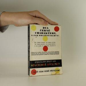 náhled knihy - Neučesané myšlenky