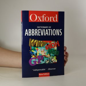 náhled knihy - The Oxford dictionary of abbreviations