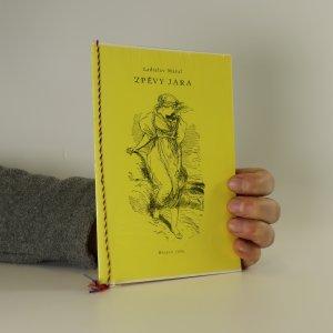 náhled knihy - Zpěvy jara (podpis autora)