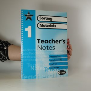 náhled knihy - New star Science 1. Sorting materials. Teacher's notes