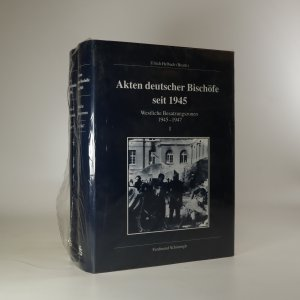 náhled knihy - Akten deutscher Bischöfe seit 1945. Westliche Besatzungszonen 1945-1947 I. a II. (ve dvou svazcích)