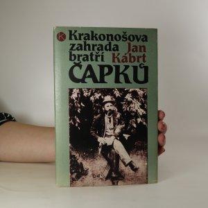 náhled knihy - Krakonošova zahrada bratří Čapků
