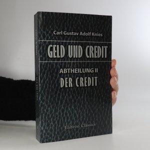 náhled knihy - Geld und Credit. Abtheilung II