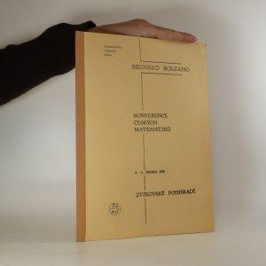 náhled knihy - Konference českých matematiků 9. - 11. února 1981