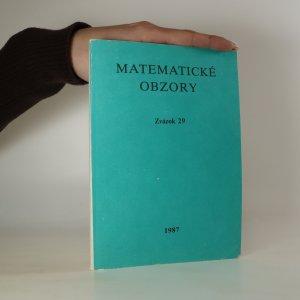 náhled knihy - Matematické obzory. Zväzok 29