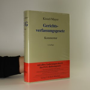 náhled knihy - Gerichtsverfassungsgesetz