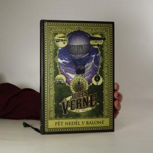 náhled knihy - Pět neděl v baloně