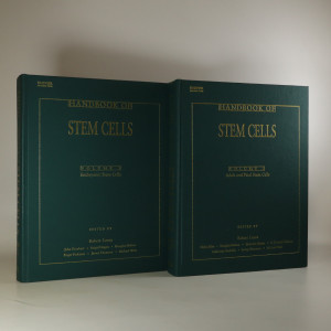 náhled knihy - Handbook of Stem Cells. Volume 1 and 2 (2 svazky)