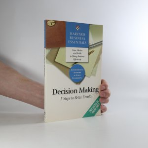 náhled knihy - Decision making. 5 steps to better results