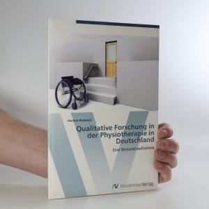 náhled knihy - Qualitative Forschung in der Physiotherapie in Deutschland