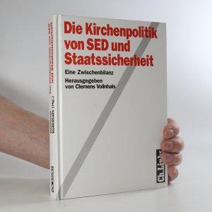 náhled knihy - Die Kirchenpolitik von SED und Staatssicherheit