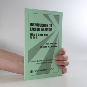 náhled knihy - Introduction to Factor Analysis: What It Is and How to Do It