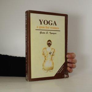 náhled knihy - Yoga. A Gem For Women (žluté flíčky na ořízce)