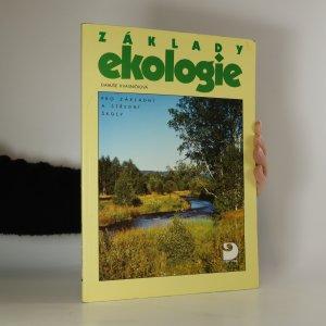 náhled knihy - Základy ekologie