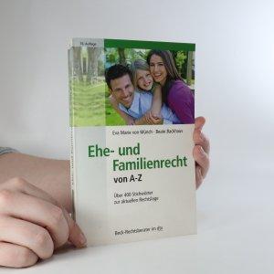 náhled knihy - Ehe- und Familienrecht